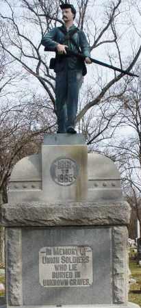 UNKNOWN, SOLDIERS - Preble County, Ohio | SOLDIERS UNKNOWN - Ohio Gravestone Photos