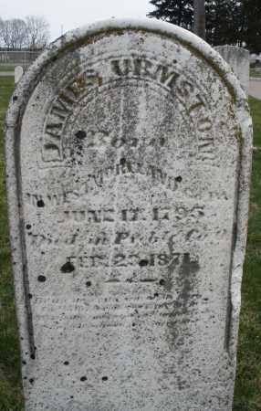 URMSTON, JAMES - Preble County, Ohio   JAMES URMSTON - Ohio Gravestone Photos