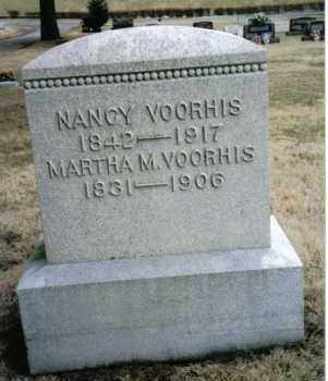 VOORHIS, NANCY - Preble County, Ohio   NANCY VOORHIS - Ohio Gravestone Photos