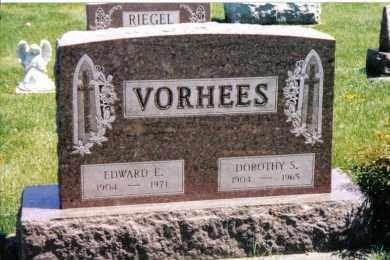 VORHEES, EDWARD E. - Preble County, Ohio   EDWARD E. VORHEES - Ohio Gravestone Photos