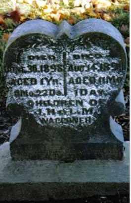 WAGGONER, MARY ETHEL - Preble County, Ohio   MARY ETHEL WAGGONER - Ohio Gravestone Photos