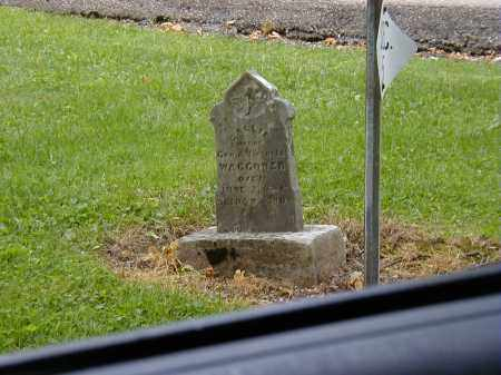 WAGGONER, CALLIE - Preble County, Ohio | CALLIE WAGGONER - Ohio Gravestone Photos