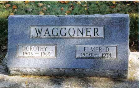 WAGGONER, DOROTHY I. - Preble County, Ohio | DOROTHY I. WAGGONER - Ohio Gravestone Photos