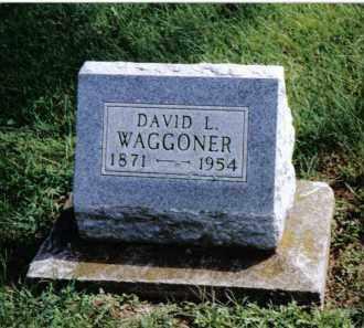 WAGGONER, DAVID L. - Preble County, Ohio | DAVID L. WAGGONER - Ohio Gravestone Photos
