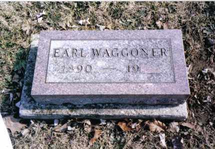 WAGGONER, EARL - Preble County, Ohio | EARL WAGGONER - Ohio Gravestone Photos