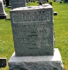 VOORHIS WAGGONER, REBECCA - Preble County, Ohio | REBECCA VOORHIS WAGGONER - Ohio Gravestone Photos