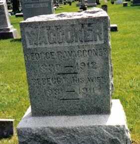 WAGGONER, GEORGE R. - Preble County, Ohio | GEORGE R. WAGGONER - Ohio Gravestone Photos