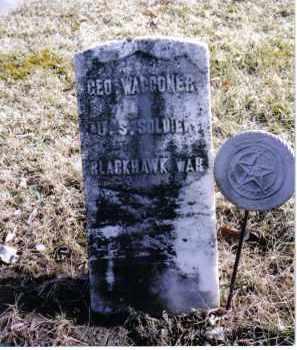 WAGGONER, GEORGE - Preble County, Ohio   GEORGE WAGGONER - Ohio Gravestone Photos