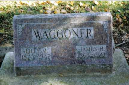 WAGGONER, JAMES H. - Preble County, Ohio | JAMES H. WAGGONER - Ohio Gravestone Photos