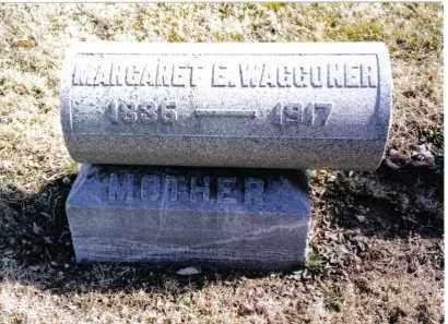 WAGGONER, MARGARET E. - Preble County, Ohio | MARGARET E. WAGGONER - Ohio Gravestone Photos