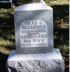 VOORHIS WAGGONER, MAGDALENA - Preble County, Ohio | MAGDALENA VOORHIS WAGGONER - Ohio Gravestone Photos