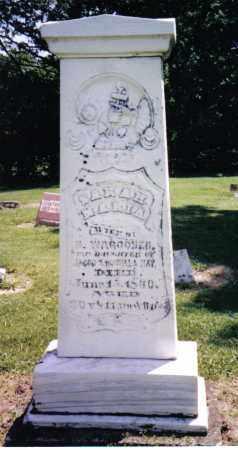 MAY WAGGONER, SARAH MARIA - Preble County, Ohio   SARAH MARIA MAY WAGGONER - Ohio Gravestone Photos