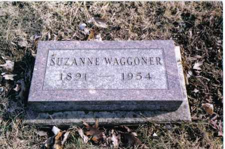 WAGGONER, SUZANNE - Preble County, Ohio | SUZANNE WAGGONER - Ohio Gravestone Photos