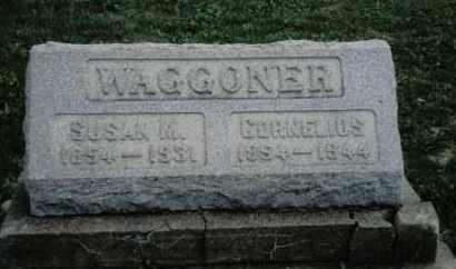 WAGGONER, CORNELIUS - Preble County, Ohio   CORNELIUS WAGGONER - Ohio Gravestone Photos