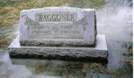 WAGGONER, ZELMA N. - Preble County, Ohio   ZELMA N. WAGGONER - Ohio Gravestone Photos