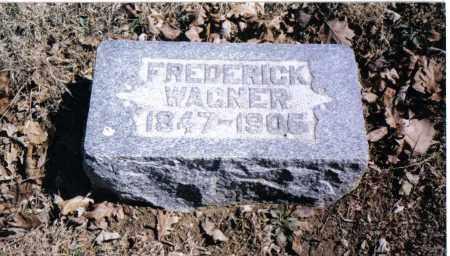 WAGNER, FREDERICK - Preble County, Ohio | FREDERICK WAGNER - Ohio Gravestone Photos