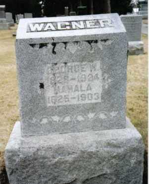 WAGNER, MAHALA - Preble County, Ohio | MAHALA WAGNER - Ohio Gravestone Photos