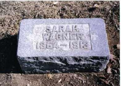 WAGNER, SARAH - Preble County, Ohio | SARAH WAGNER - Ohio Gravestone Photos
