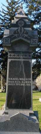 WALKER, DANIEL - Preble County, Ohio | DANIEL WALKER - Ohio Gravestone Photos