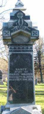 WALKER, NANCY - Preble County, Ohio   NANCY WALKER - Ohio Gravestone Photos