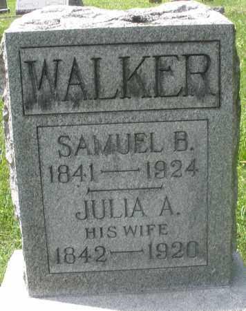 WALKER, SAMUEL B. - Preble County, Ohio | SAMUEL B. WALKER - Ohio Gravestone Photos