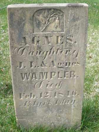 WAMPLER, AGNES - Preble County, Ohio | AGNES WAMPLER - Ohio Gravestone Photos