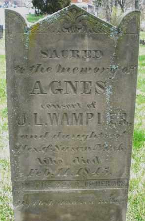 MUCK WAMPLER, AGNES - Preble County, Ohio | AGNES MUCK WAMPLER - Ohio Gravestone Photos