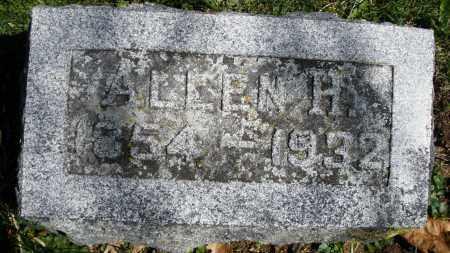 WEAVER, ALLEN H. - Preble County, Ohio   ALLEN H. WEAVER - Ohio Gravestone Photos