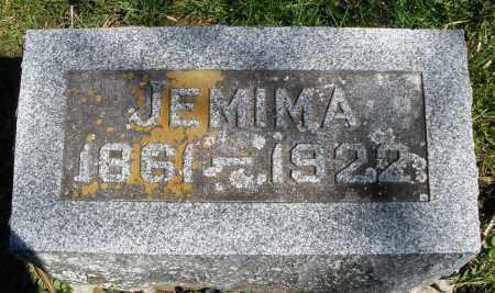 WEAVER, JEMIMA - Preble County, Ohio | JEMIMA WEAVER - Ohio Gravestone Photos