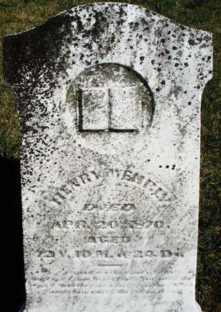 WEHRLY, HENRY - Preble County, Ohio   HENRY WEHRLY - Ohio Gravestone Photos