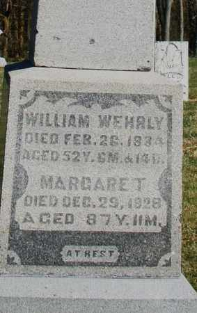 WEHRLY, MARGARET - Preble County, Ohio | MARGARET WEHRLY - Ohio Gravestone Photos