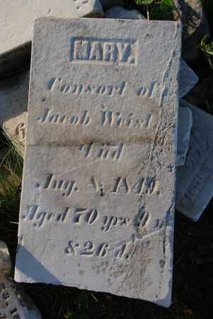 WEIST, MARY - Preble County, Ohio | MARY WEIST - Ohio Gravestone Photos