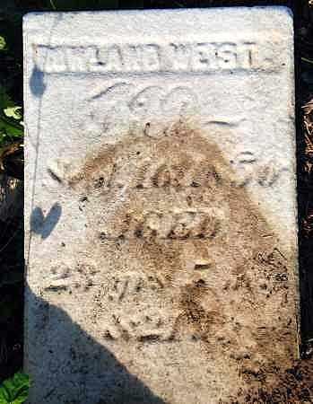 WEIST, ROWLAND - Preble County, Ohio | ROWLAND WEIST - Ohio Gravestone Photos