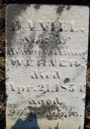 WERNER, DANIEL - Preble County, Ohio   DANIEL WERNER - Ohio Gravestone Photos
