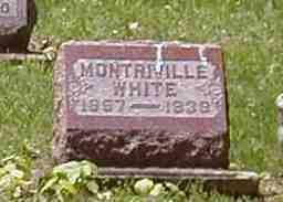 WHITE, MONTRIVILLE - Preble County, Ohio   MONTRIVILLE WHITE - Ohio Gravestone Photos