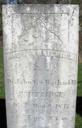 WHITRIDGE, JOSEPH - Preble County, Ohio | JOSEPH WHITRIDGE - Ohio Gravestone Photos