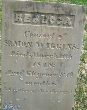 WIGGINS, REBECCA - Preble County, Ohio | REBECCA WIGGINS - Ohio Gravestone Photos