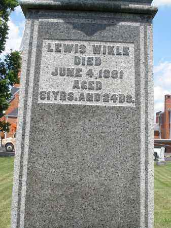 WIKLE, LEWIS - Preble County, Ohio | LEWIS WIKLE - Ohio Gravestone Photos