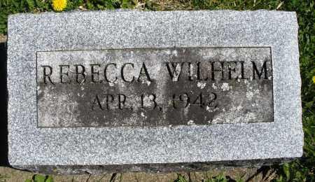 WILHELM, REBECCA - Preble County, Ohio   REBECCA WILHELM - Ohio Gravestone Photos