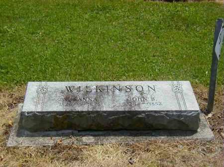 WILKINSON, SUSANNA - Preble County, Ohio | SUSANNA WILKINSON - Ohio Gravestone Photos