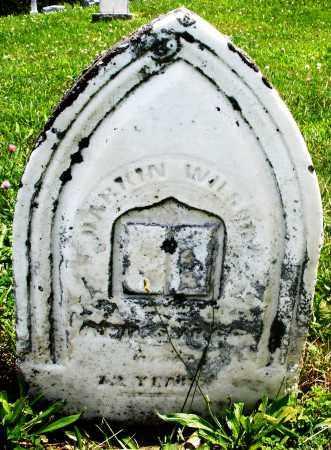WILSON, DARKIN - Preble County, Ohio | DARKIN WILSON - Ohio Gravestone Photos