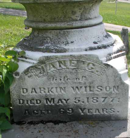 WILSON, JANE G. - Preble County, Ohio | JANE G. WILSON - Ohio Gravestone Photos