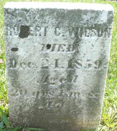 WILSON, ROBERT C. - Preble County, Ohio | ROBERT C. WILSON - Ohio Gravestone Photos