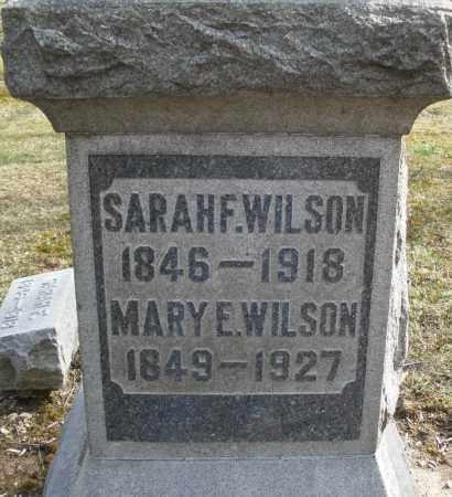 WILSON, MARY E. - Preble County, Ohio | MARY E. WILSON - Ohio Gravestone Photos