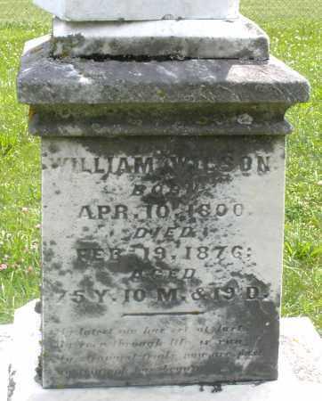 WILSON, WILLIAM - Preble County, Ohio   WILLIAM WILSON - Ohio Gravestone Photos
