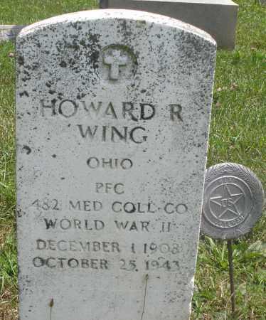 WING, HOWARD R. - Preble County, Ohio   HOWARD R. WING - Ohio Gravestone Photos
