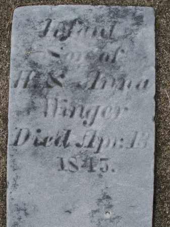 WINGER, INFANT - Preble County, Ohio | INFANT WINGER - Ohio Gravestone Photos