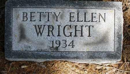 WRIGHT, BETTY ELLEN - Preble County, Ohio | BETTY ELLEN WRIGHT - Ohio Gravestone Photos
