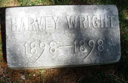 WRIGHT, HARVEY - Preble County, Ohio | HARVEY WRIGHT - Ohio Gravestone Photos