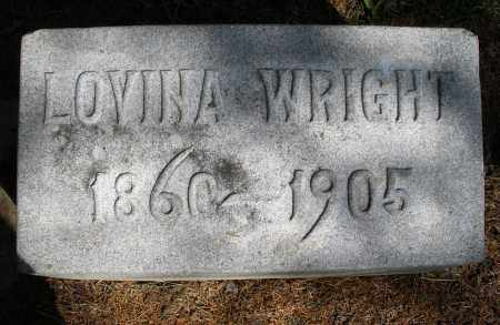 WRIGHT, LOVINA - Preble County, Ohio | LOVINA WRIGHT - Ohio Gravestone Photos